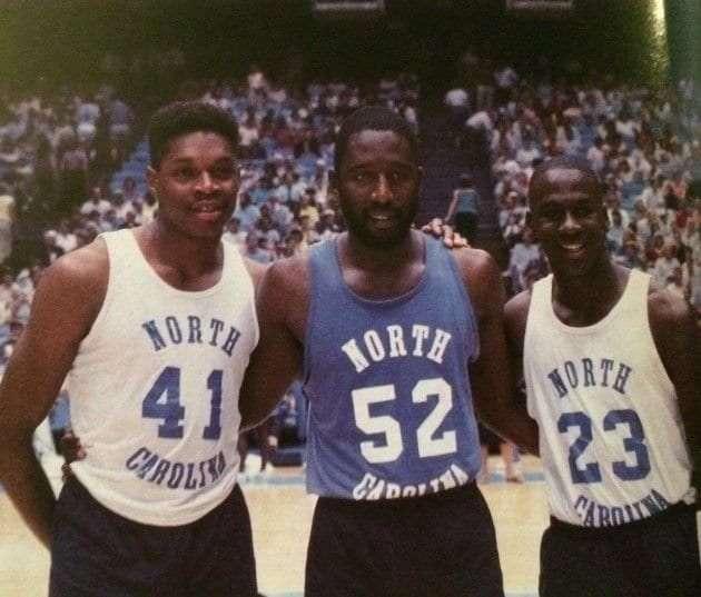 How to build a champion. 1982 Tarherls. Perkins, Worthy, and Jordan