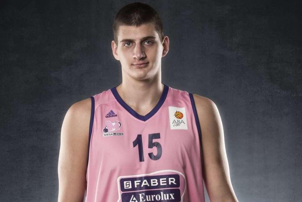 Nikola Jokic playing for his Euro team