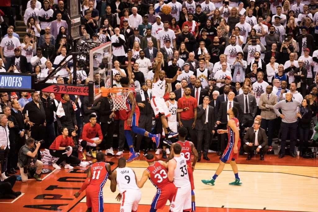 Kawhi Leonard's game 7, buzzer-beater vs the Sixers