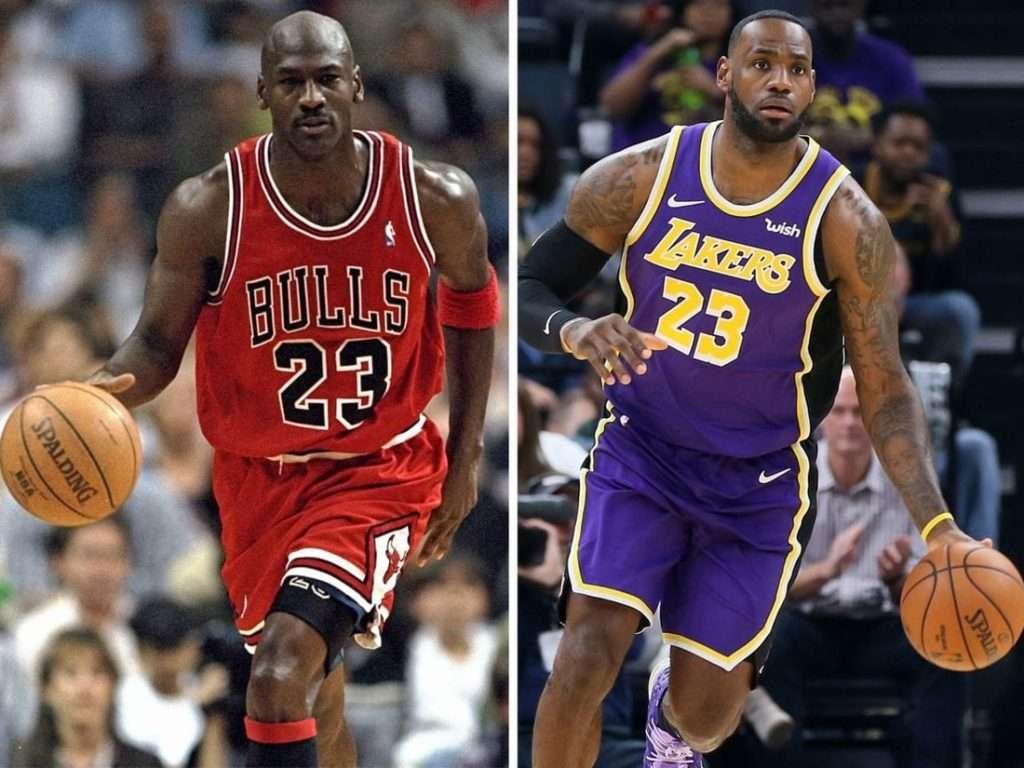 Michael Jordan and LeBron James : Who's the goat?