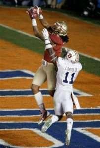 Kelvin Benjamin making the 2013 championship winning touchdown catch