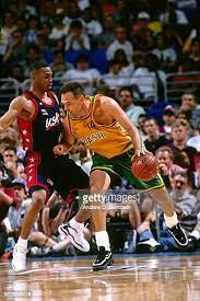 Oscar Schmidt olympic basketball play vs Penny Hardaway