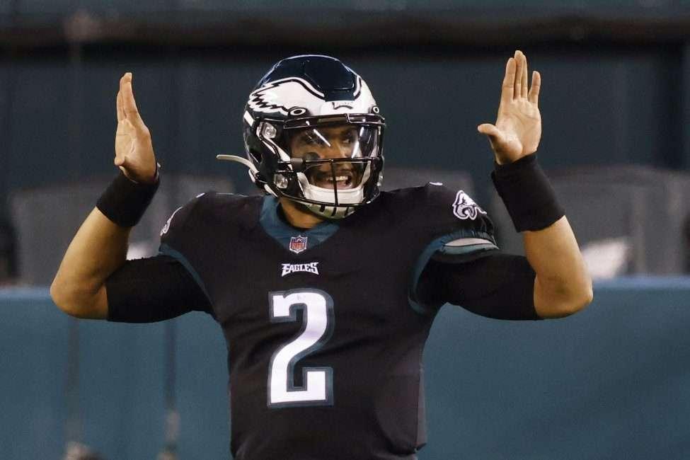 Jalen Hurts Eagles quarterback