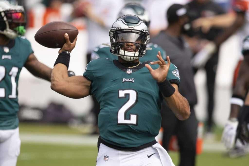 Jalen Hurts Eagles starting quarterback for 2021.