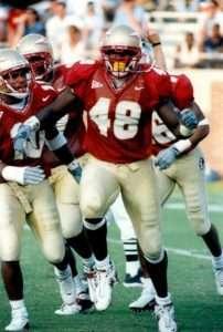Alonzo Jackson, Noles defensive lineman